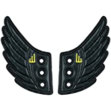 The Original Shwings: Fly Your True Colors - Black Shiny Shoe Wings (10317N)