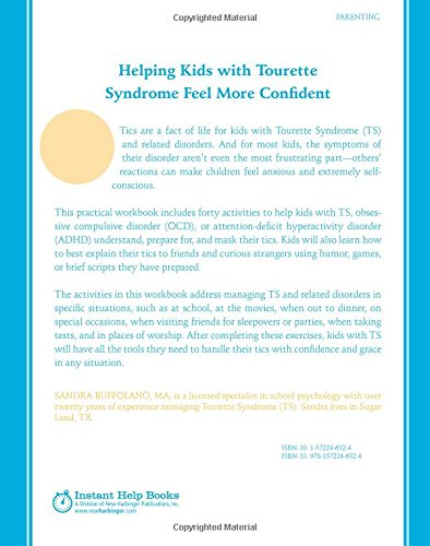 Coping with Tourette Syndrome: A Workbook for Kids with Tic ...