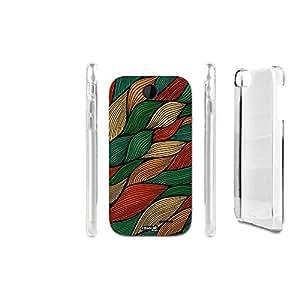 FUNDA CARCASA SWIRL LINEE VERDE PARA HTC DESIRE 310