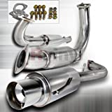exhaust for mitsubishi eclipse - Spec-D Tuning MFCAT3-ELP95T Mitsubishi Eclipse Gst 2.0L Turbo N1 Catback Exhaust System