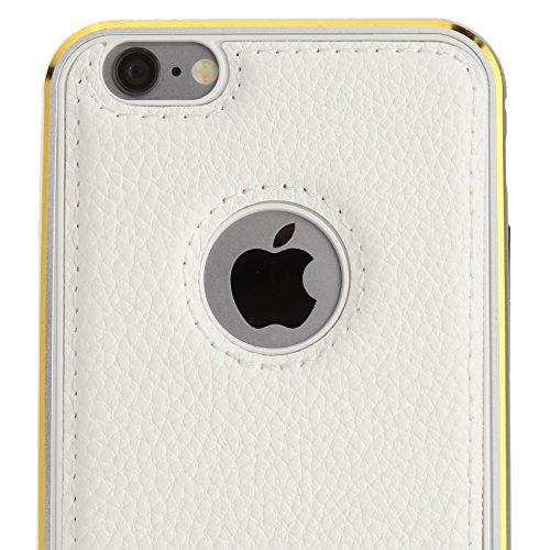 Aviato Titanium Hülle für Apple iPhone 6 Plus weiß