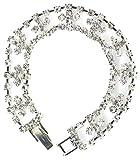 Rhinestone Silver 7'' Tennis Bracelet
