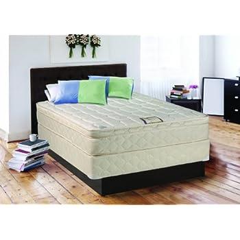 Amazon.com: Continental Sleep, Plush 10-inch Innerspring Eurotop ...