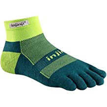 Injinji Men's Run Midweight Mini Crew Toesocks