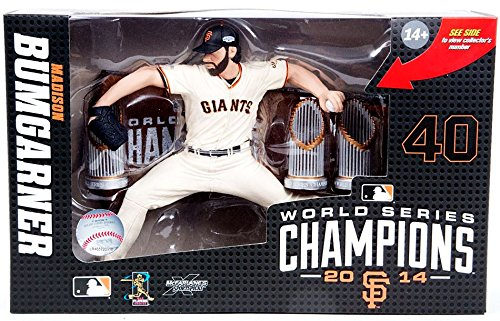 (McFarlane Toys San Francisco Giants Madison Bumgarner World Series Limited Edition Collector Box Action Figure )