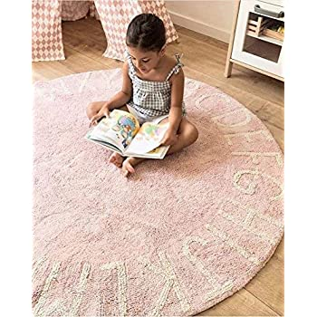 Amazon Com Abc Rugs For Preschool Round Carpet For