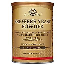 Solgar Brewer\'s Yeast Powder, 14 Ounce