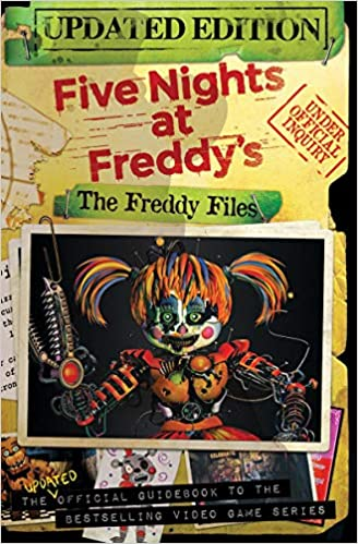 Amazon com: The Freddy Files: Updated Edition (Five Nights