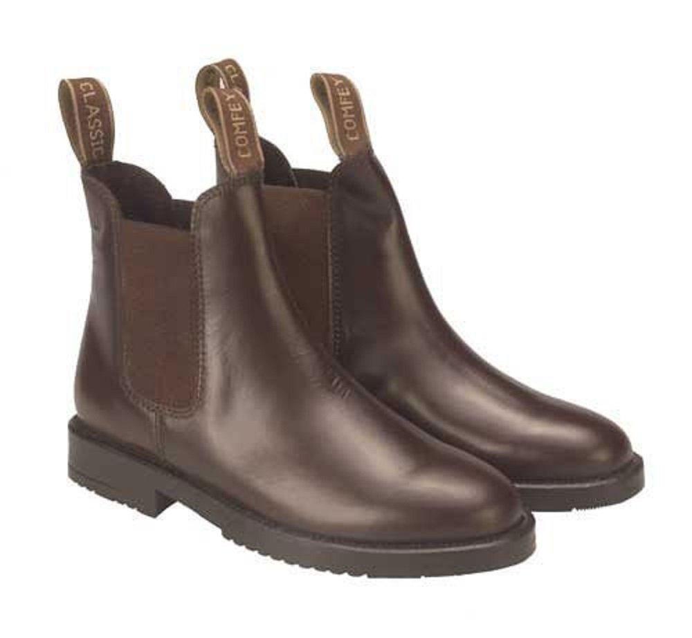 Adults Classic Leather Jodhpur Boots (sizes 6-11) Rhinegold