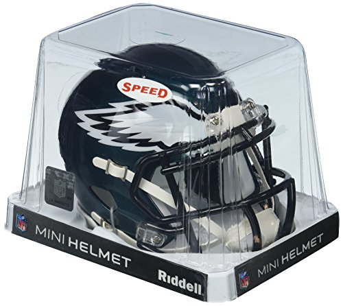 Riddell Revolution Speed Mini Helmet - Philadelphia Eagles (Nfl Helmet Football Revolution)