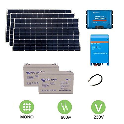 Kit fotovoltaico de 900 W a 230 V