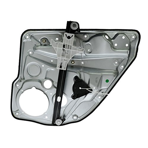 Rear Left Jetta Door (Power Window Regulator Driver Side Rear Left LR for VW Golf Jetta 4 Door)
