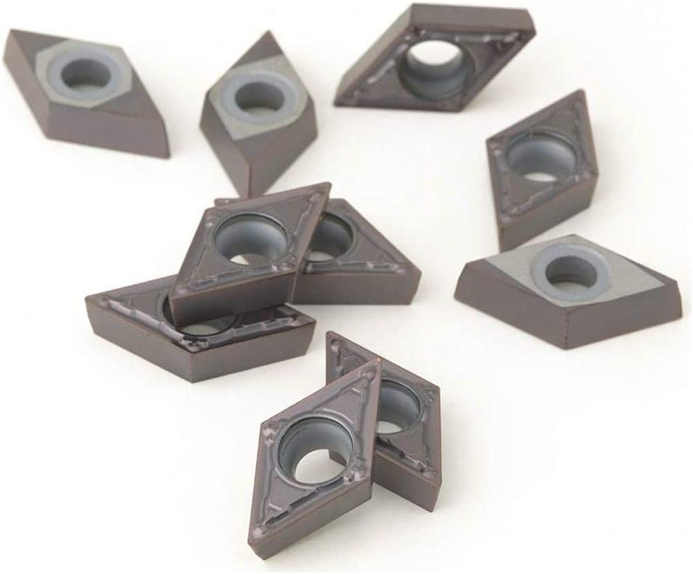 pk Grizzly Industrial H8338 of 10 Carbide Inserts DCMT for Stainless
