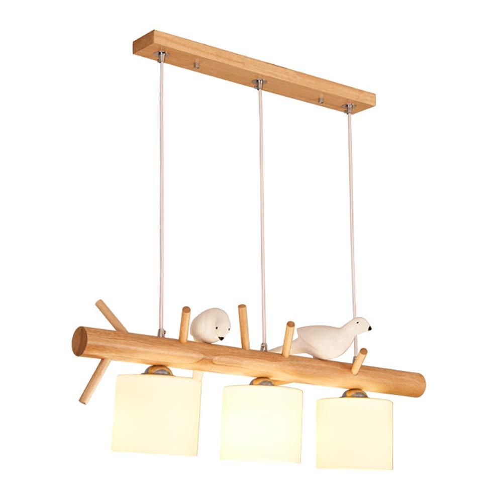 Amazon.com: CCSUN Lámpara de madera para pájaros para ...