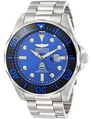 Invicta Mens 14655 Pro Diver Analog Display Swiss Quartz Silver Watch