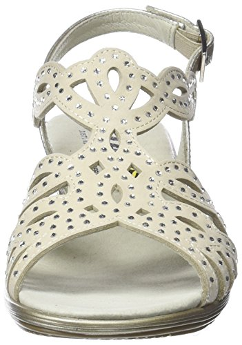 Mujer Sandalias beige Con Beige Para A Horas Tira 1 23640 24 T xwECq8vEt