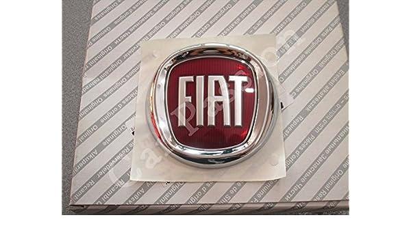 Escudo Logo Fiat trasera Panda Grande Punto Idea Fregio Original: Amazon.es: Coche y moto