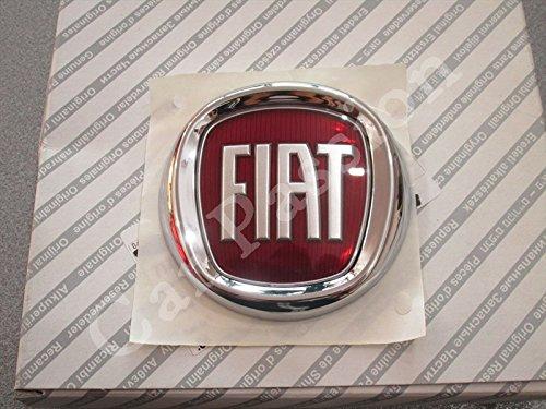 stemma logo FIAT POSTERIORE PANDA GRANDE PUNTO IDEA FREGIO ORIGINALE