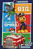 Paw Patrol Fleece Throw Chase Marshall Rocky Rubble - 100cm X 150cm