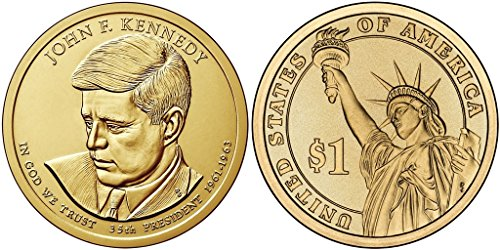 - 2015 P 25 Coin Bankroll of John F. Kennedy Presidential Uncirculated