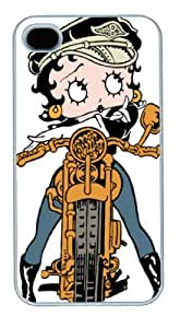 Betty Boop PC Case Cover for iPhone 4 4S