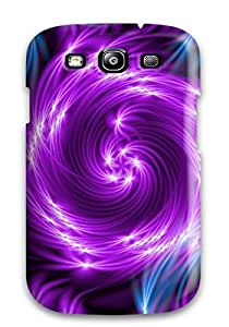 New Premium DPatrick Glowing Swirls Skin Case Cover Excellent Fitted For Galaxy S3