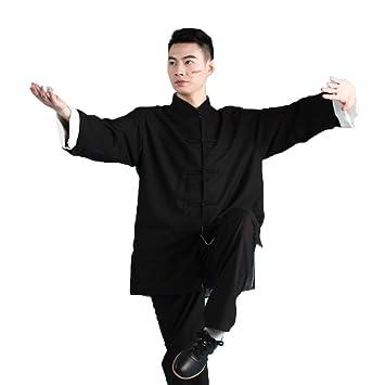 Tai Chi Uniforme Hombres Traje De Wushu Mangas Largas Artes ...