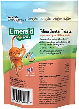 Emerald Pet Premios Dentales de Salmón DE 85 g para Gato 3