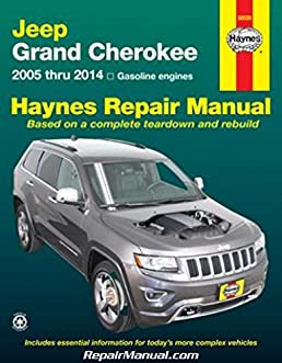 h50026 jeep grand cherokee 2005 2014 haynes repair manual rh amazon com Haynes Manual Pictures Back Saab 99 Haynes Manuals