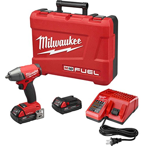 Cordless Impact Wrench Kit, ONE-KEY, 2.0Ah