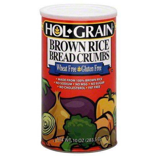 Hol-Grain Brown Rice Bread Crumbs 8 oz - Pack of 6 (Brown Rice Bread Crumbs compare prices)