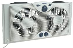 Holmes Hawf 2041 Twin Window Fan With Comfort Control Thermostat