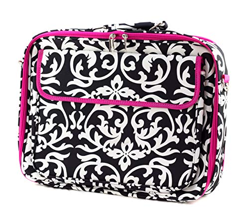 Uni Collections Laptop Case (Damask Print Pink)