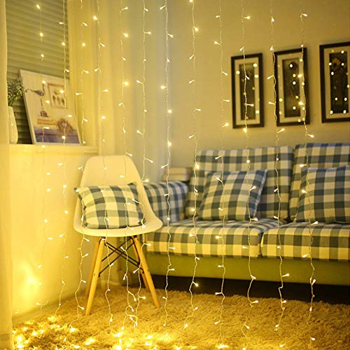 roof-bolter String Lights,Indoor/Outdoor Decoration Lights LED String Light Fairy Lights Plug in for Bedroom Garden,Wedding,Xmas Party (100led 32.5feet/10meters) Warm White (Warm White) from roof-bolter