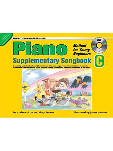 Progressive Piano Method For Young Beginners - Supplementary Songbook C - Partitions, Livre, CD