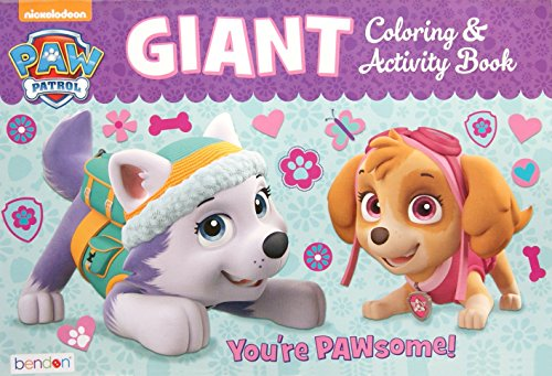 Patrol Giant Coloring Activity Book