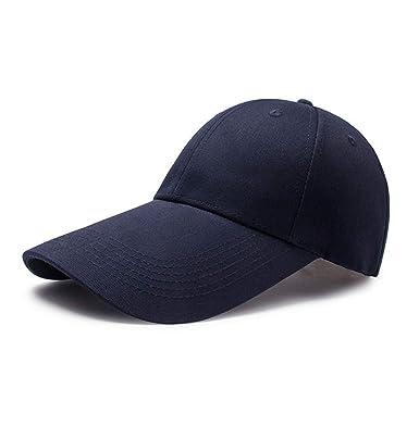 la meilleure attitude 14c0a 91ce4 Lachi Casquette Baseball pour Hommes Femme Unisexe Adulte Coton Caps  Chapeau Sport Golf Cyclisme Randonnée Loisirs Protection Solaire Anti UV ...