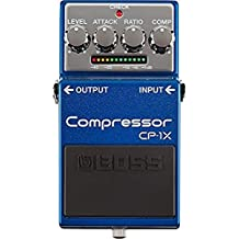 Boss CP-1X Compressor Pedal and Boss PSA-120S2 Power Supply