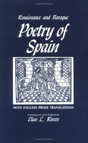 Renaissance+Baroque Poetry Of Spain