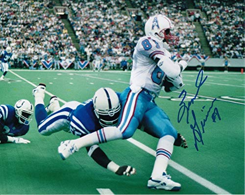 - Ernest Givens Signed Autographed 8 X 10 Photo Oilers 32304