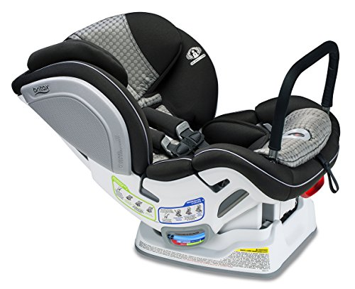Britax Advocate ClickTight Anti-Rebound Bar Convertible Car Seat – 3 Layer Impact Protection – Rear & Forward Facing – 5 to 65 Pounds, Venti