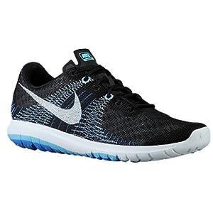 Nike Black Lakeside Blue Flex Fury Sneakers