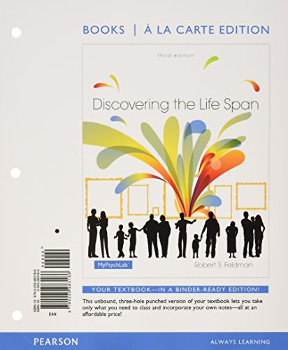 Discovering The Life Span (Loose) Pkg.