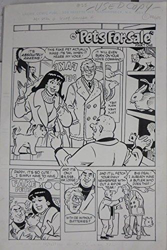 STAN GOLDBERG ORIGINAL ART! Archie & Friends #28,