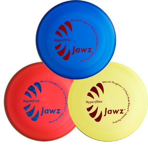 Hyperflite K-10 Jawz Dog Disc 3 Pack