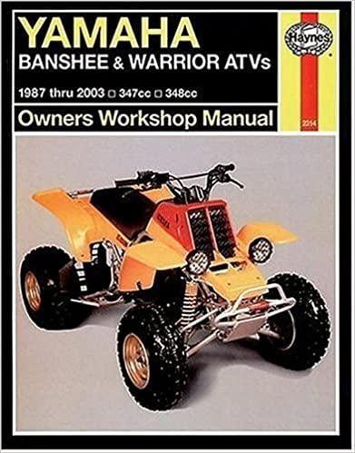 Yamaha Banshee Warrior Atvs 1987 2003 Haynes Repair Manuals Haynes 9781563925153 Amazon Com Books