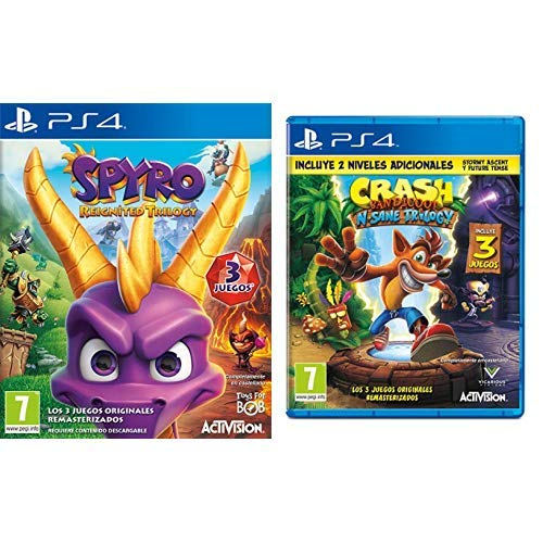 Spyro Reignited Trilogy: PlayStation 4: Amazon.es: Videojuegos