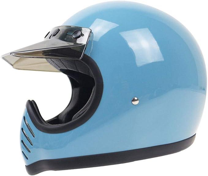 casco motocross vintage