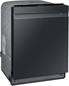 Samsung DW80R9950UG 39 dB Black Stainless Steel Top Controlled Dishwasher