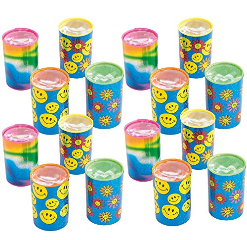 Kicko Mini Kaleidoscope Prism Toy 1.75 Inches - Pack of 16 - Assorted Colors and Designs Mini Prism - for Kids - Great Party Favors, Bag Stuffers, Fun, Gift, Prize